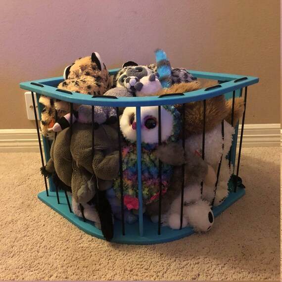 Stuffed Animal Storage Solution Zoo Cage Partially Assembled Etsy