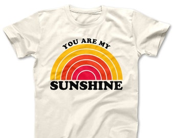 e1d010e385fa7 You Are My Sunshine Shirt / Women's Shirt / Women's Clothes / Vintage Retro  Style Tee / Ladies Graphic T-shirt / You Are My Sunshine Tee