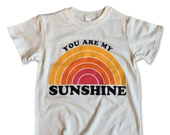 You Are My Sunshine Shirt / Toddler Shirt / Toddler Boy Clothes / Toddler Girl Clothes / Toddler Clothes / You Are My Sunshine Tee