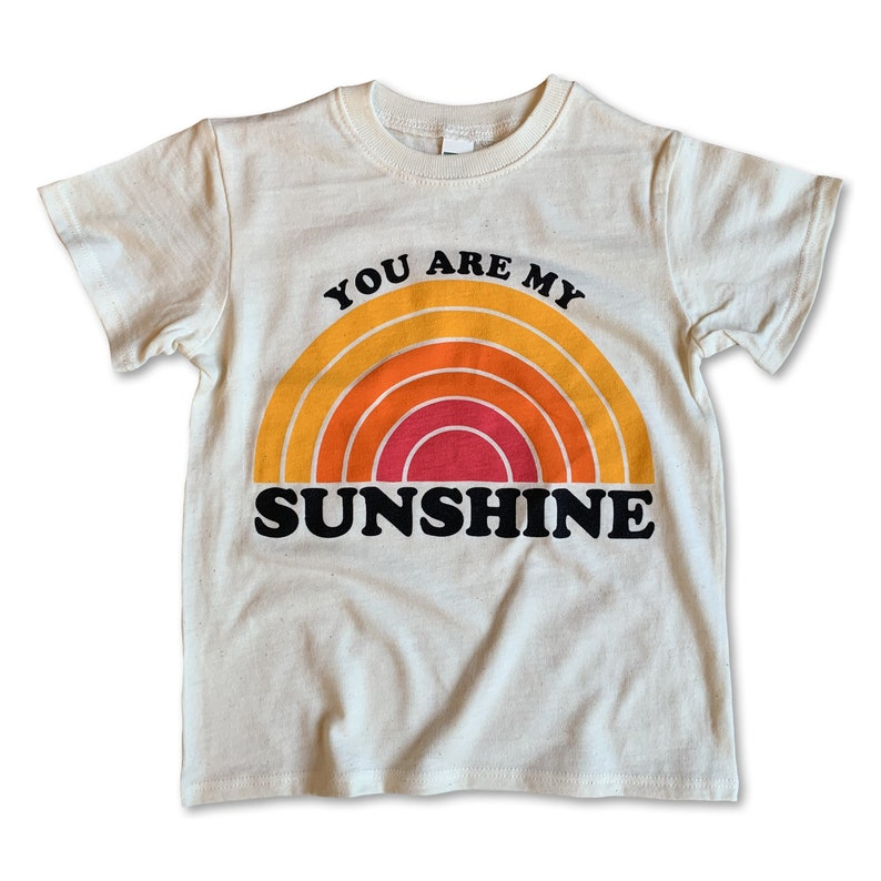 You Are My Sunshine Shirt / Toddler Shirt / Toddler Boy image 0