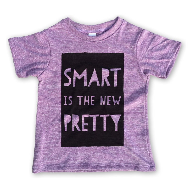 deb813ca0 Kids Clothes / Smart Is The New Pretty / Girls Shirts / Girl | Etsy