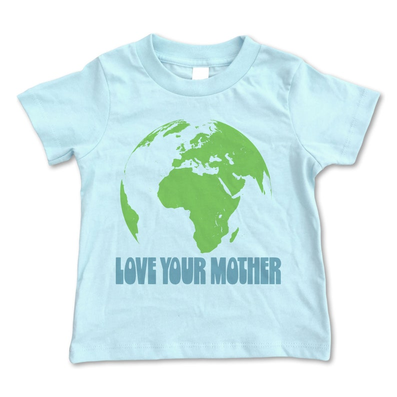 d417bb95c946 Love Your Mother Shirt Toddler Earth Shirt Toddler Boy | Etsy
