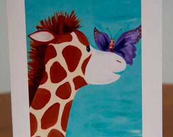 Greeting Cards Giraffe