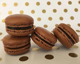 Chocolate Chocolate Macarons
