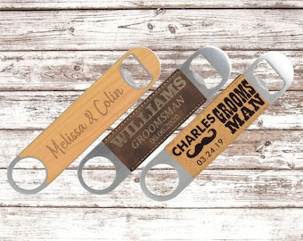 Custom Beer Bottle Opener Favor, Personalized Beer Bottle Opener, White Elephant Gifts Under 10, Beer Gifts for Men, Gifts for Beer Brewers
