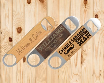 Custom Beer Bottle Opener, Groomsmen gifts, gifts for groomsmen, groomsman gift