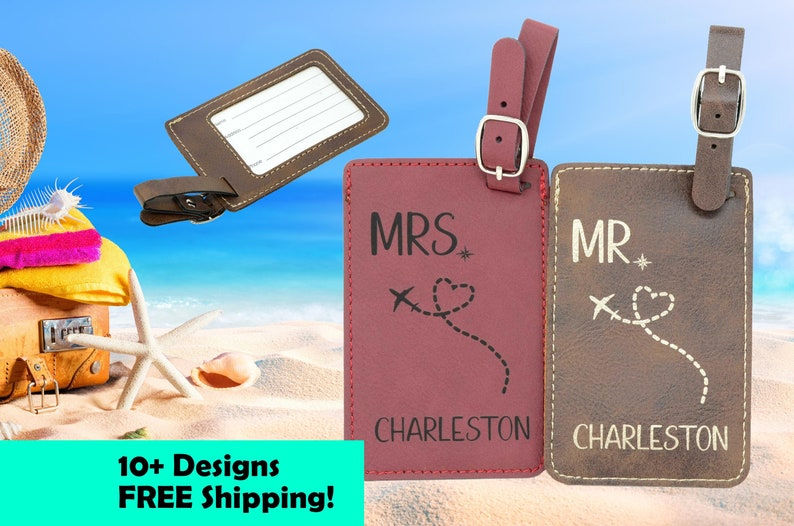 Luggage Tag Tags Personalized. Travel Gifts Accessories Gift. image 0
