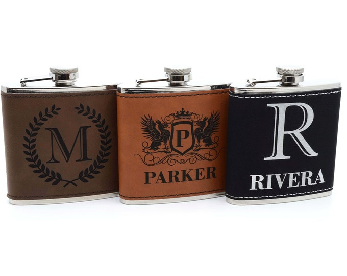 Personalized groomsmen flask, hip flask, flask for men, flask for groomsmen, groomsmen gift, groomsman gift, gift for men