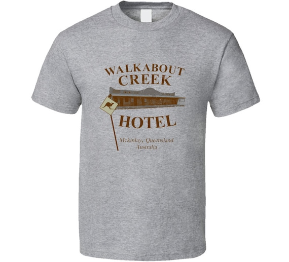 NEW ** Crocodile Dundee WALKABOUT CREEK Hotel film t-shirt ladies all sizes