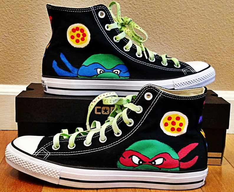 a4782cece9f Kid s and Adult TMNT Teenage Mutant Ninja Turtles Converse
