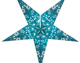 Paper Star lanterns handcrafted in scintillating colors and designs