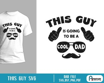 First Time Dad Svg Etsy