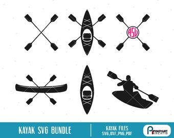 Download Kayak svg   Etsy