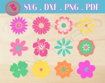 flower svg, flower svg, flower svg file, flower svg files, flower dxf, flower svg files for cricut, flower vector, floral svg, flower clip