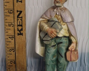 NORLEANS Ceramic Figurine- Old Man