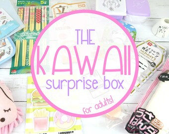 Kawaii Surprise Box | Mystery Gift Box | Cute | For Adults | Japan