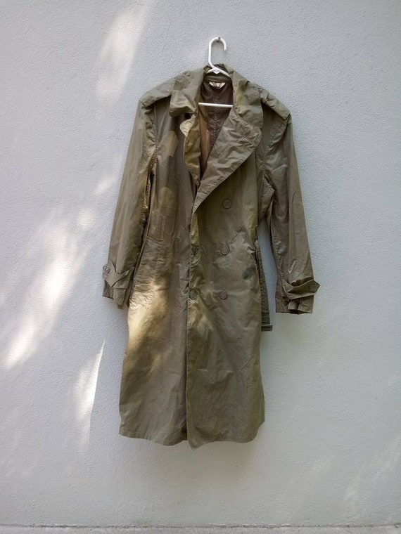 WW2 Lightweight Raincoat