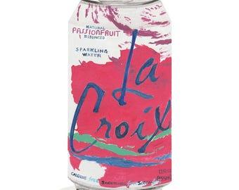 La Croix Passionfruit Limited Edition PRINT 8x10