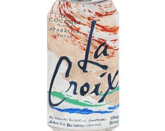 La Croix Coconut Limited Edition PRINT 8x10