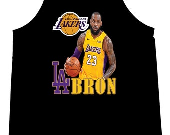 314b5441aa82 LeBron James Los Angeles Lakers LaBron LA Lakeshow Men Tank Tops