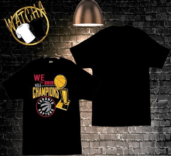Toronto Raptors 2019 NBA Championship Image Men's T-Shirts