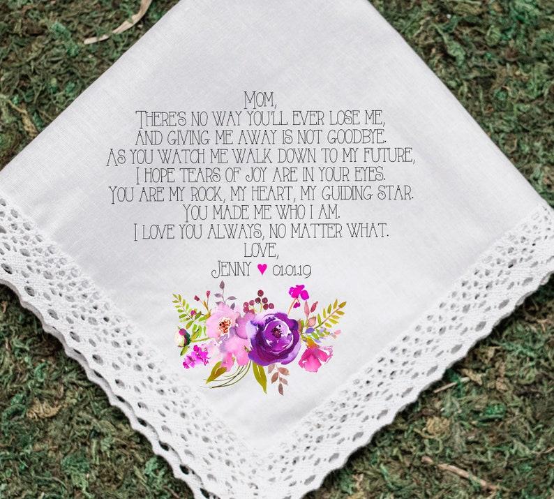 163d56aa242c1 Custom Quote Handkerchief Wedding Personalized Handkerchief image 0 ...