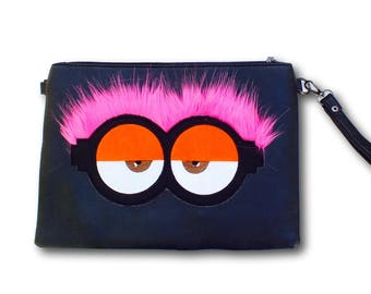 black handbag women, black clutch bag, black boho handbag, black clutch purse, black womens handbag, boho clutch purse, cute womens clutch,