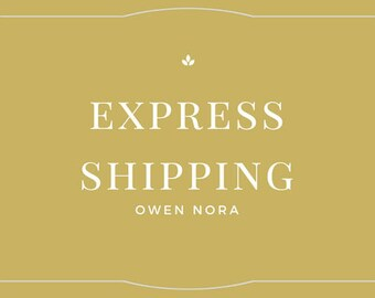 FAST EXPRESS SHIPPING- on all orders