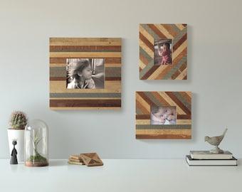 Unique Reclaimed Wood Lath Frames