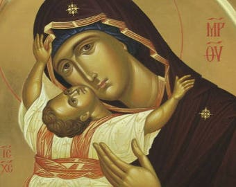 Mother of God  orthodox icon Кардиотисса (Сердечная)