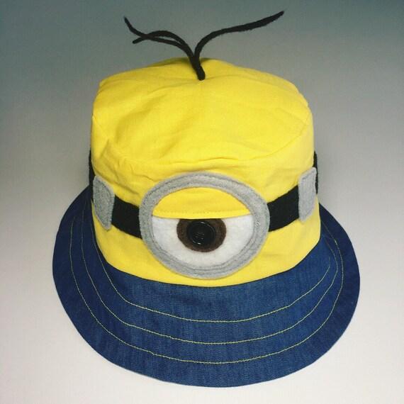 Minions Bucket Hat Boy Kids Summer Hat