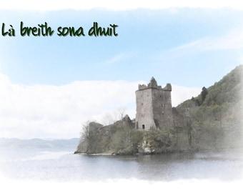 Gaelic birthday card etsy gaelic gaelic greeting card happy birthday gaelic birthday card scots gaelic card gaelic card l breith sona dhuit kimberley cooper m4hsunfo