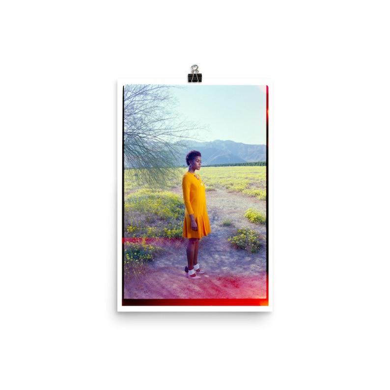 Super Bloom Fashion Art Print 35mm Photography Wall Art