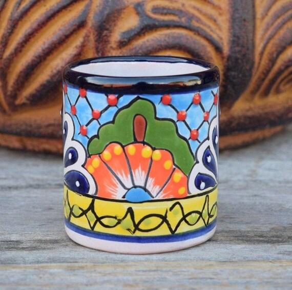 Mexican Talavera Pot Planter Handcraft Different Designs Iphone S8