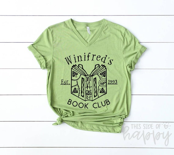 Disney Halloween Shirts Etsy.Winifred S Book Club Hocus Pocis Tee Halloween Shirts Disney Halloween Shirt