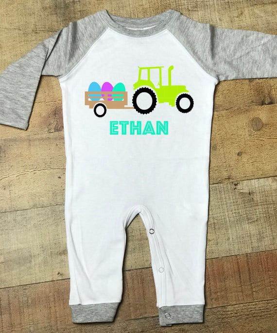 c766f85a5e3b Personalized Easter outfit easter romper baby easter