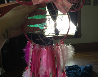 Mickey or Minnie Mouse Dreamcatcher