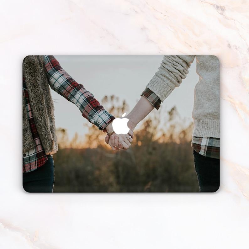 the latest ac901 1b5fb Custom MacBook Air Case Custom MacBook Pro 13 case Custom Photo mac book  2018 case Personalized Laptop pro retina case Family Photo Initials