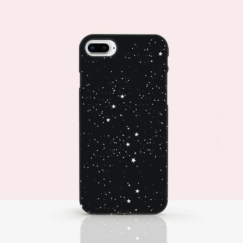 new concept c436a bd825 Stars iPhone X Case Space iPhone XR Case XS phone Rubber Case 8 iphone case  XS Max case 8 Plus space iphone 6s Case Black iPhone Cover