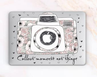 Pro 13 2016 Cover Pro 15 2016 Cover Pro Cover Macbook Camera Cover Macbook Photographer Case Pro Air Case Retina Collect moments not things