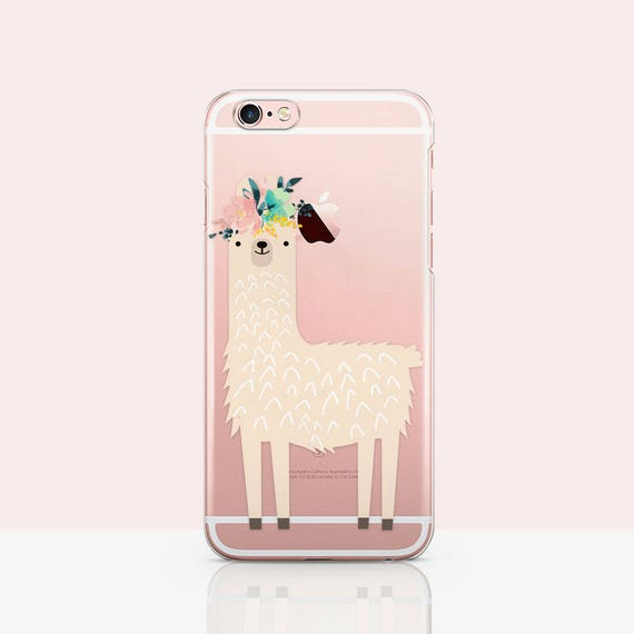 finest selection b4a72 8d189 Cute Rose Lama Print, iPhone 7 Case Llama Rubber iPhone X Case Lama, iphone  XR case Llama - Lama Drama iphone 8 Plus case Cute Xs case Gift