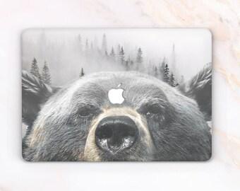 Bear Case Animal Macbook Case Animal Macbook Cover Animal Shell Bear Air 11 Case Air 13 Bear Bear Pro 13 Macbook 12 Animal Forest Animal 57