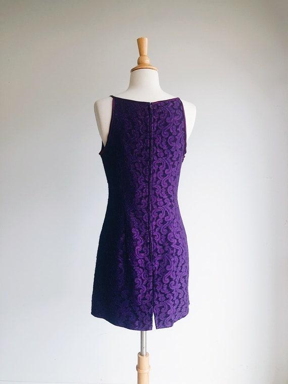 GUNNE SAX | Purple Lace Vintage 90's Formal Dress… - image 2