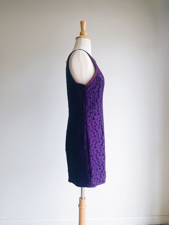 GUNNE SAX | Purple Lace Vintage 90's Formal Dress… - image 3