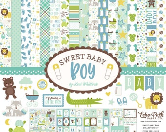 Sweet Baby Boy Collection Kit