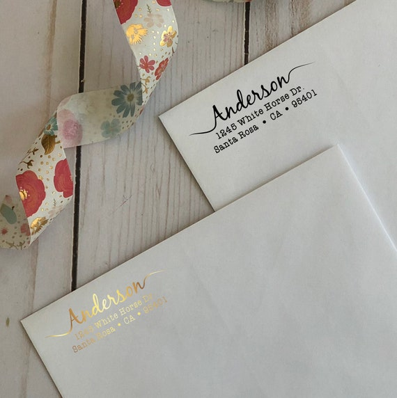 Return Address Labels Wedding Bridal