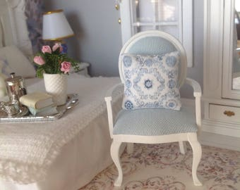Dollhouse miniature designer cushion