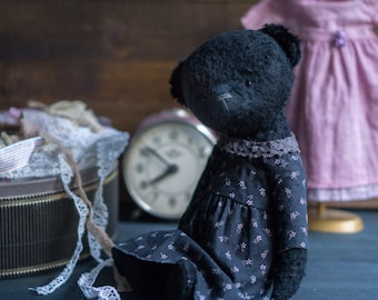 Teddy bear Black