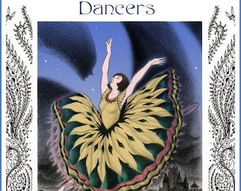 Dancers In The Gnarly Gardens - Five Card Set