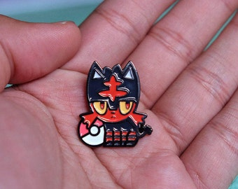 It's Lit. | Soft Enamel Pin | Litten | Pokémon Pin